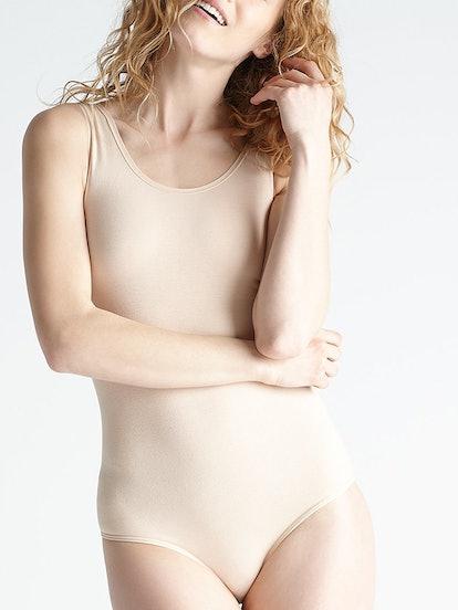 Cotton Shaping Full Back Bodysuit