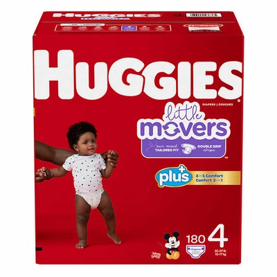 Huggies® Plus Little Movers