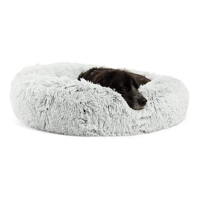 Shag Vegan Fur Donut Cuddler