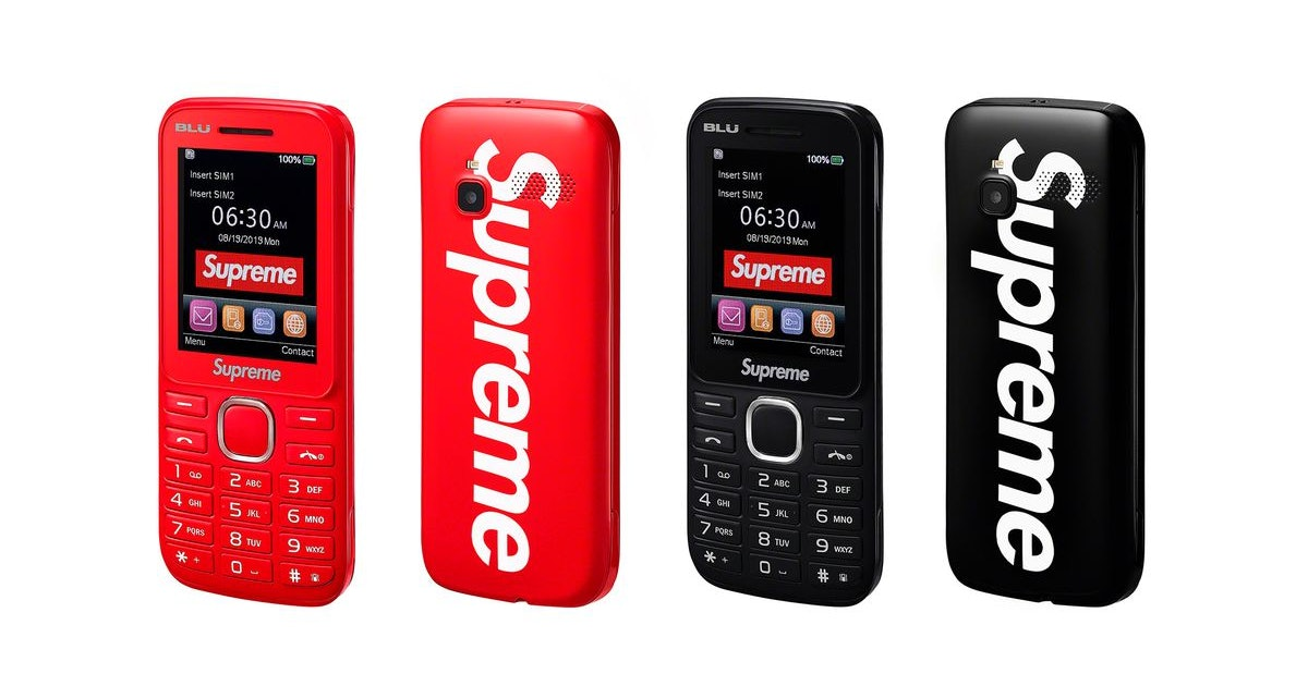 Supreme's burner phone strips away the notification-induced terror of daily life