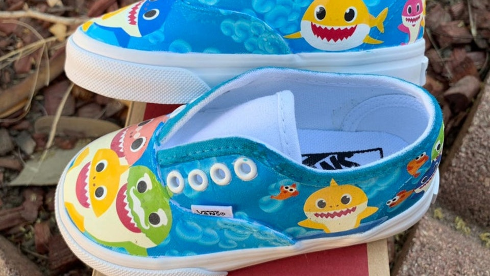 bda2986bb05f2 How To Get Baby Shark Toddler Shoes Because These Bad Boys Are All ...