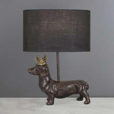 Anzo Dachshund Dog Table Lamp