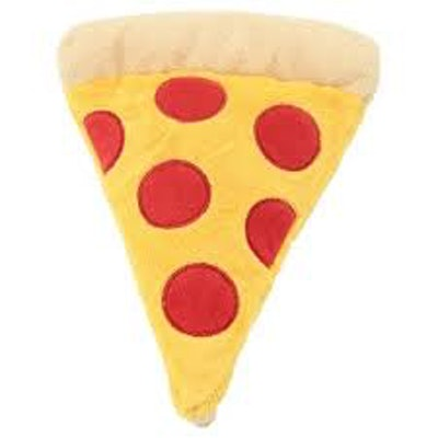 Mini Pizza Plush Dog Toy