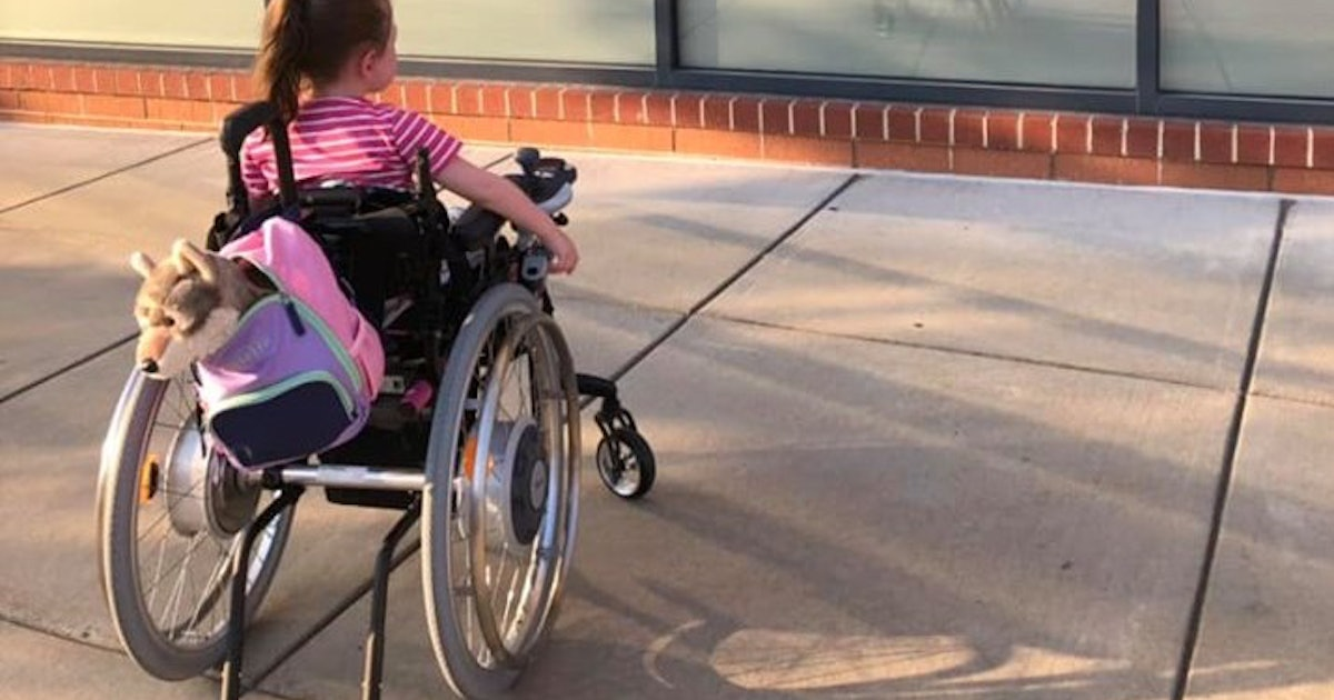 Photo Of Girl Staring At Ulta Ad Featuring Woman In Wheelchair Showcases Why Inclusivity Matters