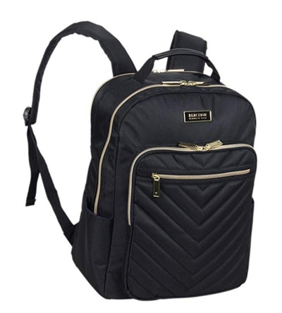Kenneth Cole Reaction Chevron Quilted Laptop Backpack