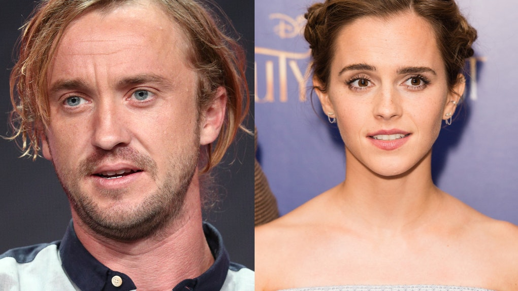 Are Emma Watson Tom Felton Dating This Pajama Photo Has Fans Wondering