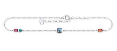 Colourful Stones Anklet