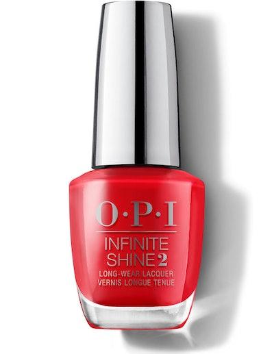Infinite Shine Long Lasting Nail Polish in Red Heads Ahead