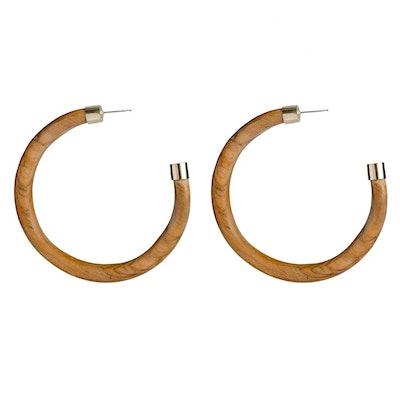 SOKO X Reformation Capped Arlie Maxi Hoop Earrings