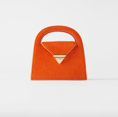 Leather Mini City Bag