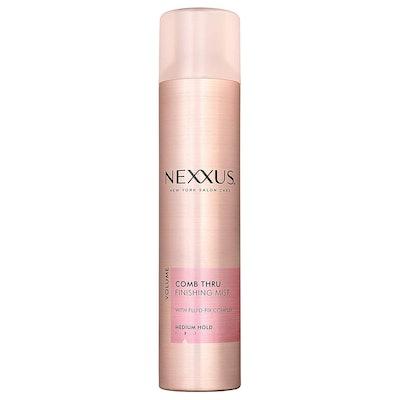 Nexxus Comb Thru Finishing Mist Hair Spray for Volume, 10-Ounce