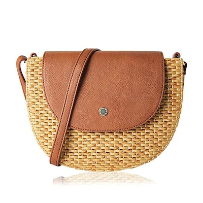 The Lovely Tote Co. Straw Cross Body Bag