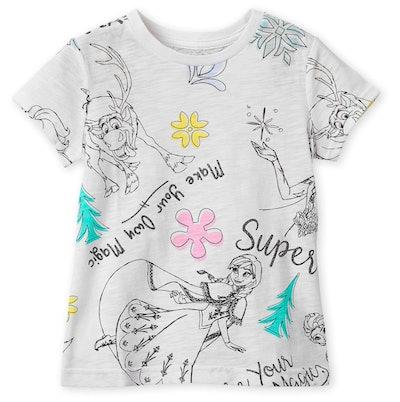 Frozen Sketch Tee Shirt