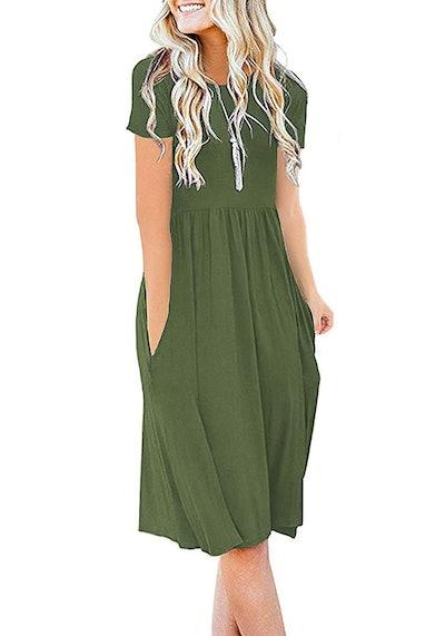 DB MOON Empire Waist T-Shirt dress