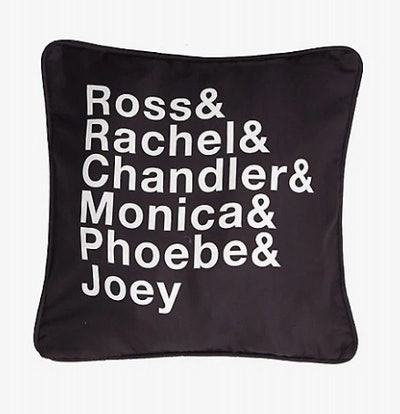 Friends Names Pillow Cover