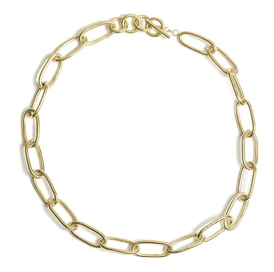 SOKO X Rerformation Ellipse Link Collar Necklace