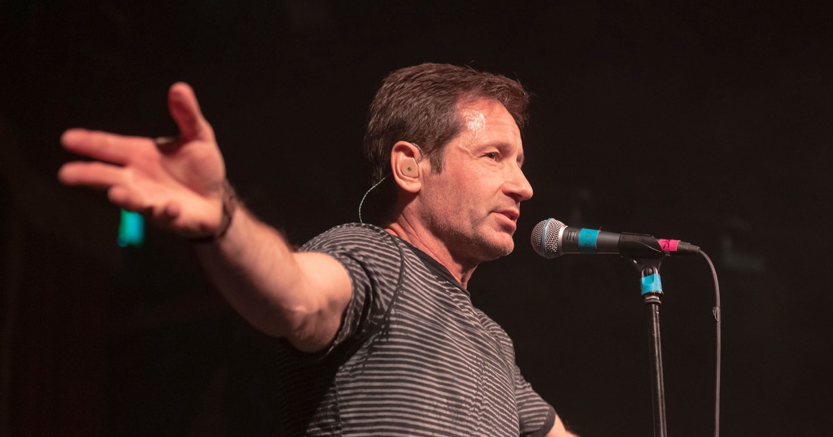 David Duchovny Knows You're at His Concert to See Mulder, Humbly Hopes You Enjoy His Music Anyway