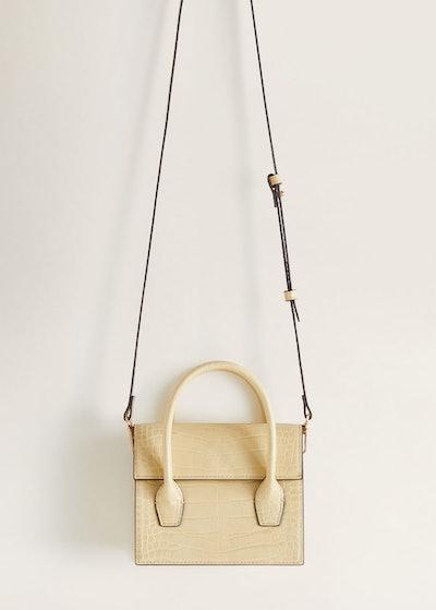 Croc Effect Mini Bag