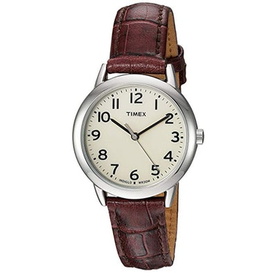 Timex Women's Easy Reader Leather Strap