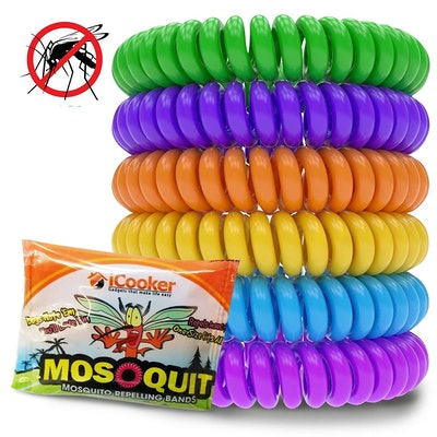 iCooker Mosquito Repellent Bracelets (12 Pack)