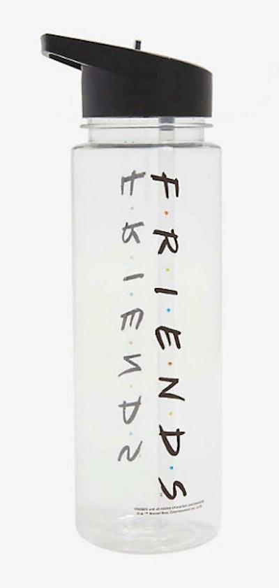 Friends Logo Clear Water Bottle