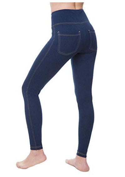 NIRLON Jeggings for Women High Waist Tummy Control Jean Leggings