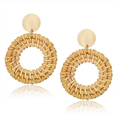 Cealxheny Rattan Earrings