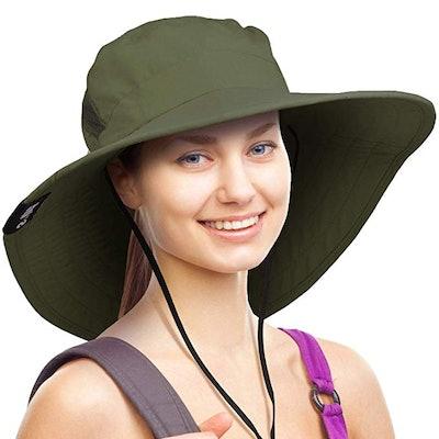 Solaris Wide Brim Sun Hat