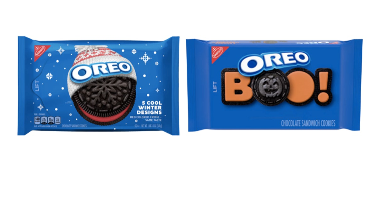Seasonal OREO Halloween & Winter Cookies Are Back, So Get To Dipping