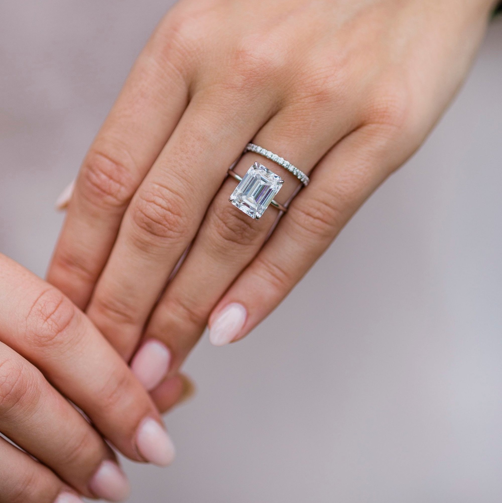 Moissanite Engagement Rings Are The Popular Diamond