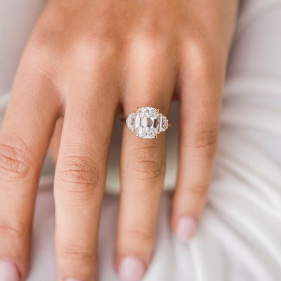 The Camilla Ring (4.6 Carat Center)