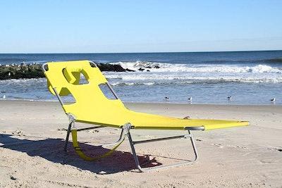 Ostrich Chaise Lounge Chair