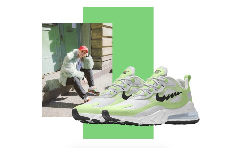 Nike's New Air Max 270 React Sneakers Promote Mental Health ...