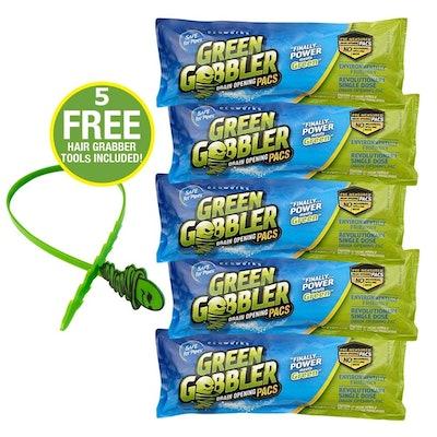 Green Gobbler Drain Opening Packs (5-Pack)