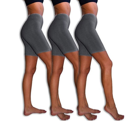 Sexy Basics Slip Bike Shorts (3-Pack)