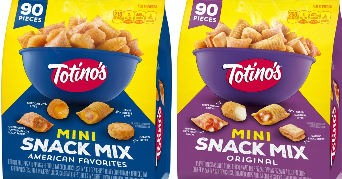 Totino's New Mini Snack Mix Just Took Snacking To New Heights