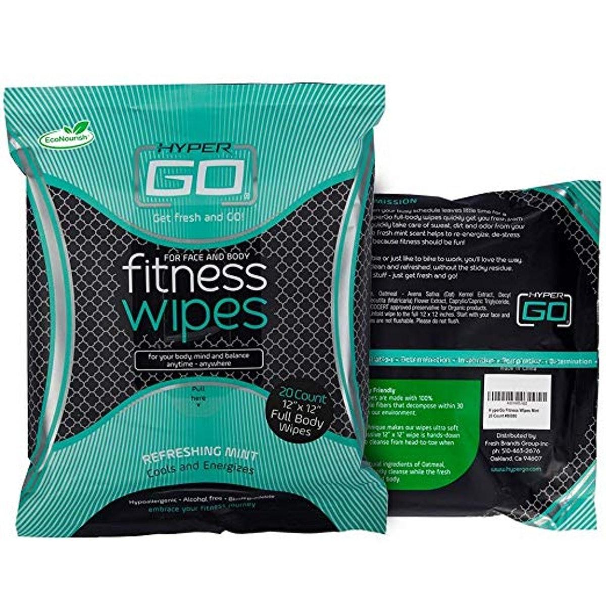 HyperGo: Full Body Fitness Wipes