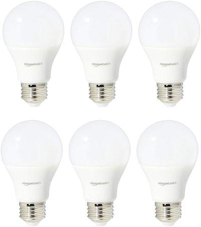 60 Watt LED Soft White Non-Dimmable Lightbulbs (6-Pack)