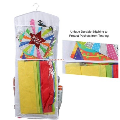 Clorso Vertical Wrapping Paper Storage