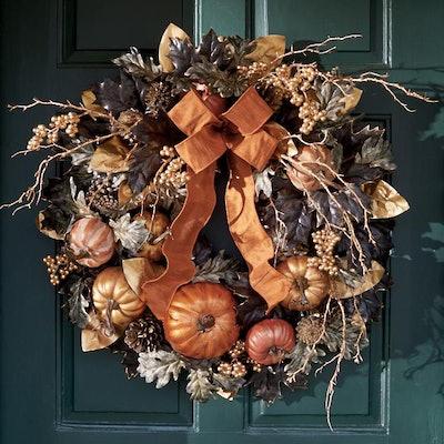 Falloween Wreath