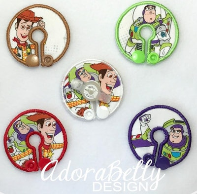 Toy Story Tubie Covers (Gtube Pads) Woody Buzz