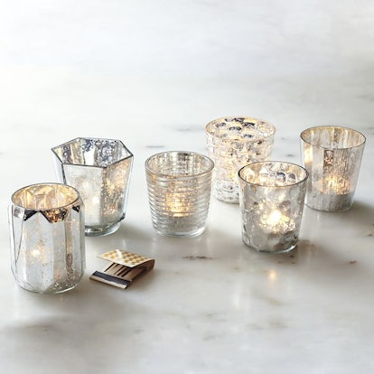Mercury Tealights (set of 6)