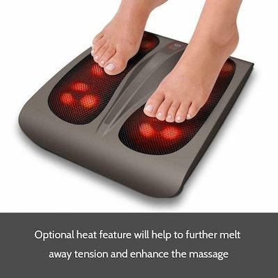 HoMedics Triple Action Heated Shiatsu Foot Massager