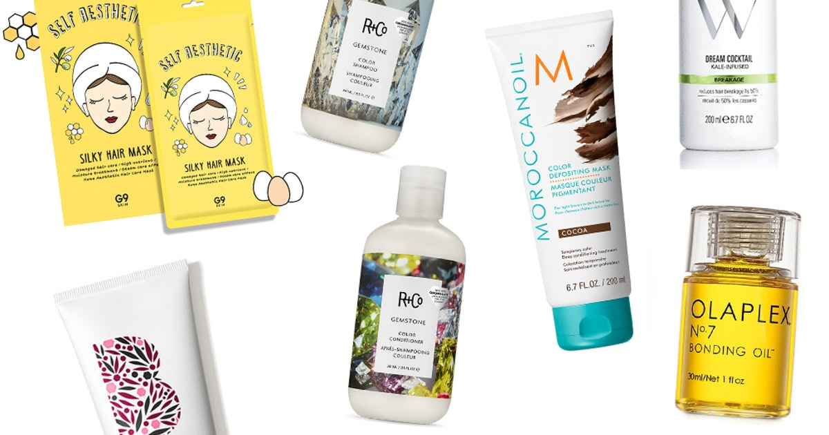 9 Best Products For Damaged Hair If You've Spent Way Too Much Time Coloring