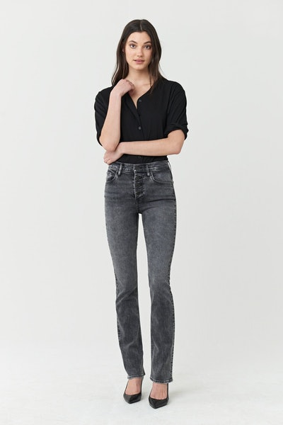 Poppy Slim Boot High Rise Jeans