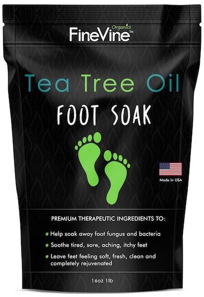 FineVine Tea Tree Oil Foot Soak