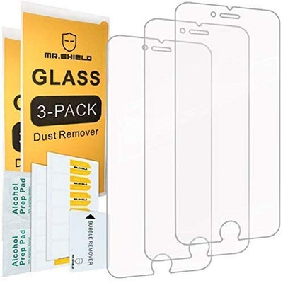 Mr. Shield Tempered Glass iPhone Protectors (3-Pack)