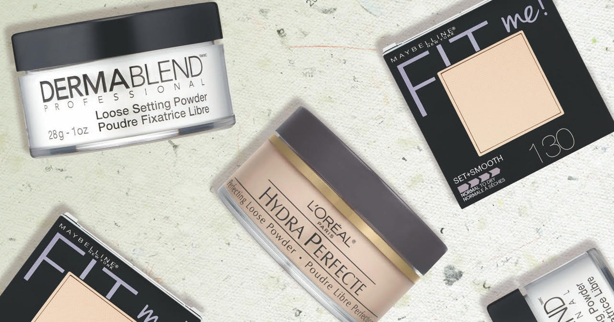 The 4 Best Setting Powders For Dry Skin
