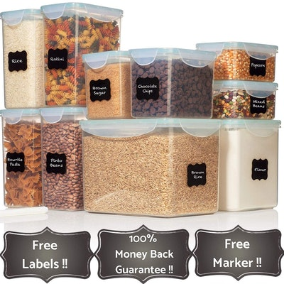 Pantry Food Storage Containers (10-Pack)