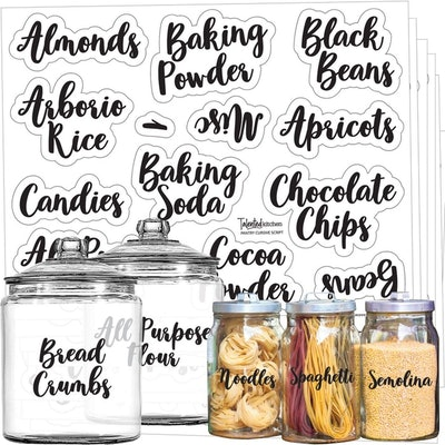 Talented Kitchen Pantry Labels
